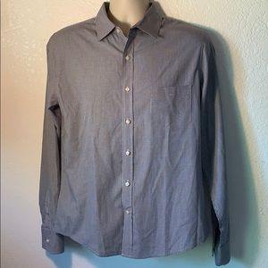 Vince Mens Button Down Dress Shirt sz M